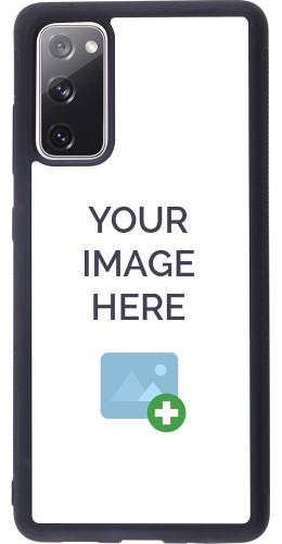 Coque personnalisée en Silicone rigide noir - Samsung Galaxy S20 FE