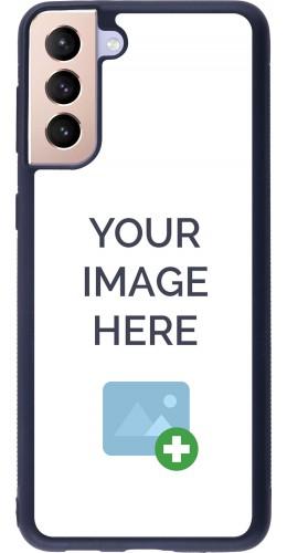 Coque personnalisée en Silicone rigide noir - Samsung Galaxy S21+ 5G