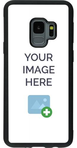 Coque personnalisée en Silicone rigide noir - Samsung Galaxy S9