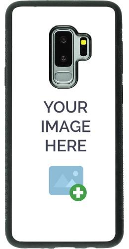 Coque personnalisée en Silicone rigide noir - Samsung Galaxy S9 Plus