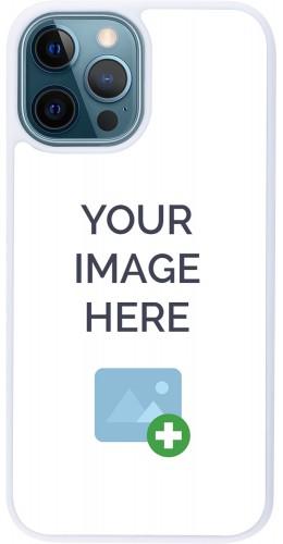 Coque personnalisée en Silicone rigide blanc - iPhone 12 / 12 Pro
