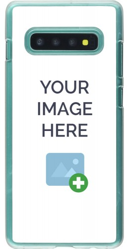 Coque personnalisée plastique transparent - Samsung Galaxy S10+