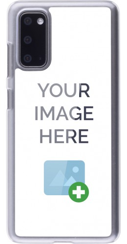 Coque personnalisée plastique transparent - Samsung Galaxy S20
