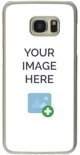 Coque personnalisée plastique transparent - Samsung Galaxy S7 Edge