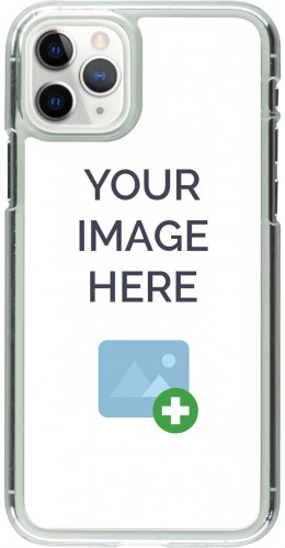 Coque personnalisée plastique transparent - iPhone 11 Pro