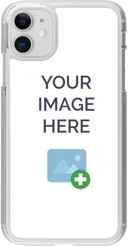 Coque personnalisée plastique transparent - iPhone 11