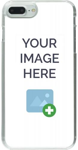 Coque personnalisée plastique transparent - iPhone 7 Plus / 8 Plus