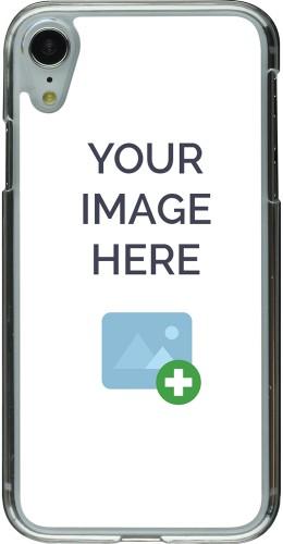 Coque personnalisée plastique transparent - iPhone XR
