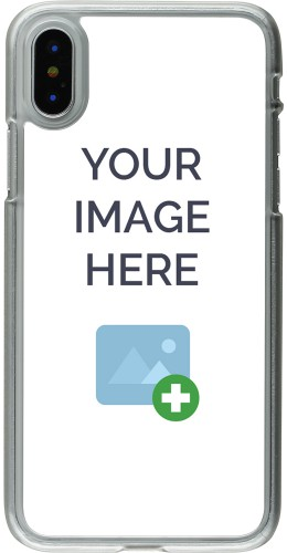 Coque personnalisée plastique transparent - iPhone X / Xs