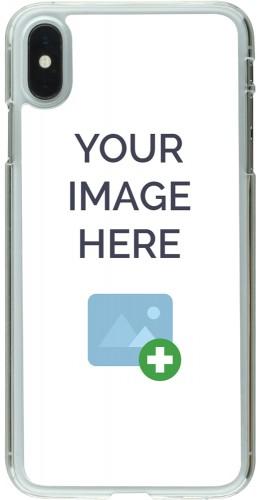 Coque personnalisée plastique transparent - iPhone Xs Max