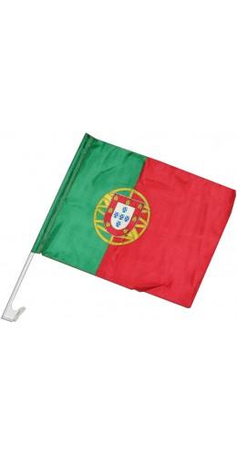Drapeau Portugal pour voiture 30 x 45 cm