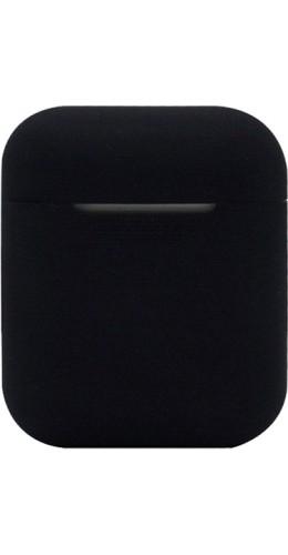 Etui AirPods silicone noir