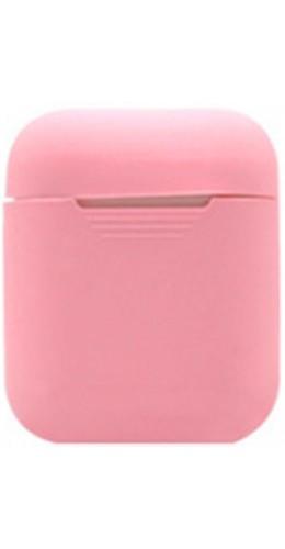 Etui AirPods silicone rose