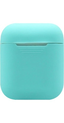 Etui AirPods silicone turquoise