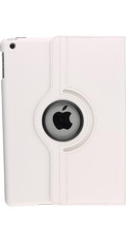 Etui cuir iPad Air 2 - Premium Flip 360 blanc