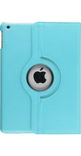 Etui cuir iPad Air 2 - Premium Flip 360 bleu clair