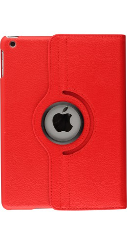 Etui cuir iPad Air - Premium Flip 360 rouge