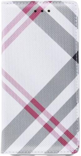 Fourre Samsung Galaxy S10 - Flip Lines blanc