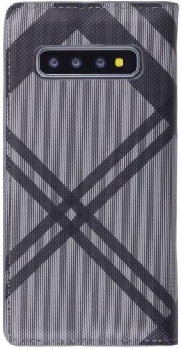 Fourre Samsung Galaxy S10 - Flip Lines gris