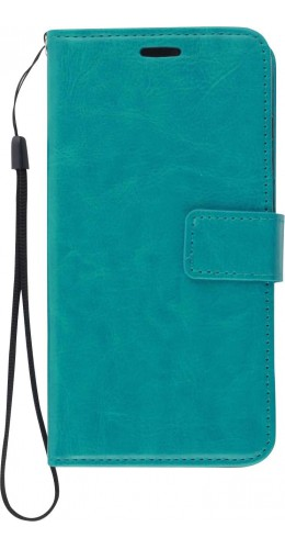 Fourre Samsung Galaxy S21 Ultra 5G - Premium Flip turquoise