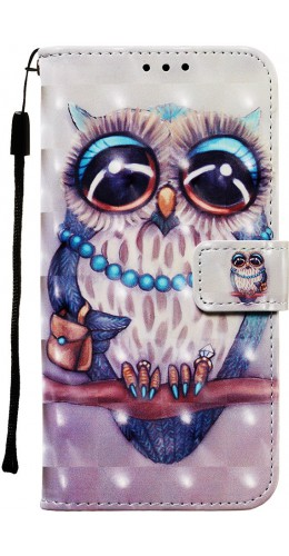 Fourre Samsung Galaxy S20 - Flip 3D fashion owl