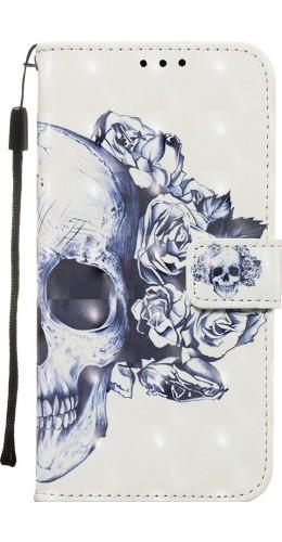 Fourre Samsung Galaxy S20+ - Flip 3D skull noir