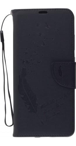 Fourre Samsung Galaxy S20 - Flip plume freedom noir