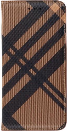 Fourre Samsung Galaxy S20 Ultra - Flip Lines brun