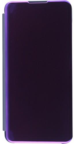 Fourre Samsung Galaxy S21+ 5G - Clear View Cover bleu foncé