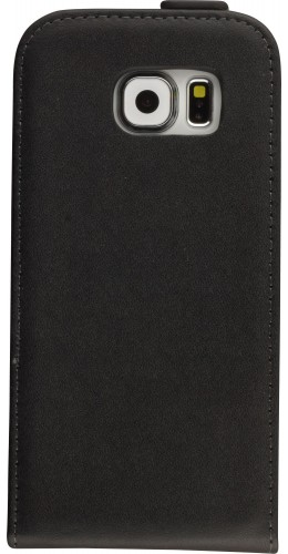 Fourre Samsung Galaxy S6 - Vertical Flip noir