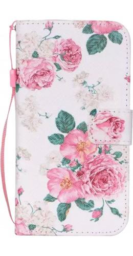 Fourre Samsung Galaxy S7 edge - Flip Flower vintage rose