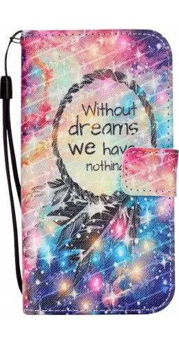 Fourre iPhone 4/4s - Flip Without dreams nothing