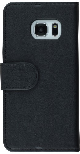 Fourre Samsung Galaxy S7 edge - Flip noir