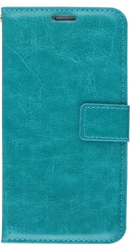 Fourre Samsung Galaxy S7 - Premium Flip turquoise
