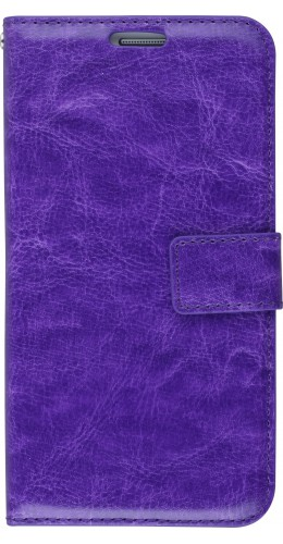 Fourre Samsung Galaxy S7 edge - Premium Flip violet