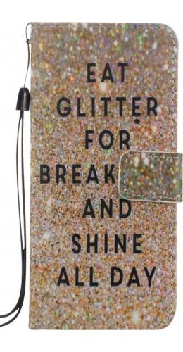 Fourre Samsung Galaxy S8 - Flip Glitter for breakfast