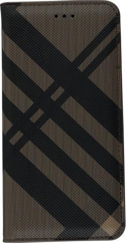 Fourre Samsung Galaxy S9+ - Flip Lines brun