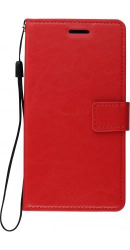 Fourre Samsung Galaxy S9+ - Premium Flip rouge