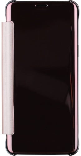 Fourre Samsung Galaxy S9+ - Clear View Cover rose clair