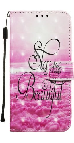 Fourre Samsung iPhone 11 Pro Max - Flip 3D Stay beautiful