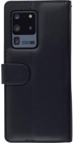 Fourre cuir Samsung Galaxy S20 Ultra - Flip noir