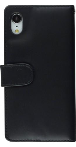 Fourre cuir iPhone Xs Max - Flip noir