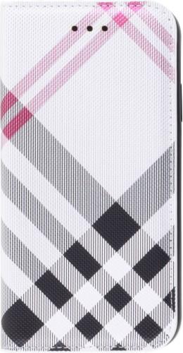 Fourre iPhone 12 / 12 Pro - Flip Lines blanc