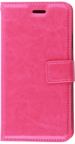 Fourre iPhone 11 - Premium Flip rose foncé