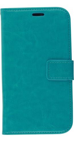 Fourre iPhone 11 - Premium Flip turquoise