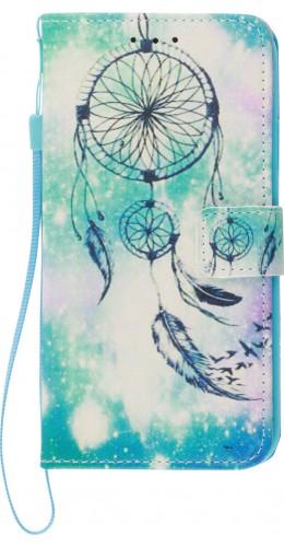 Fourre iPhone 11 Pro - Flip Dreamcatcher bleu clair