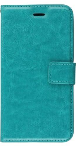 Fourre iPhone 11 Pro Max - Premium Flip turquoise