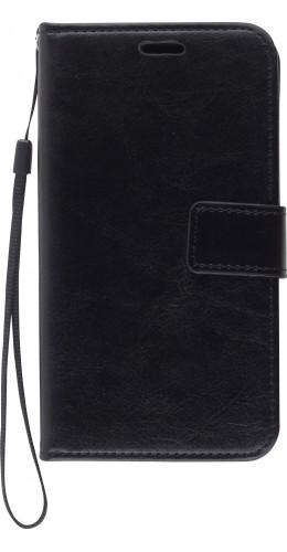 Fourre iPhone 12 / 12 Pro - Premium Flip noir
