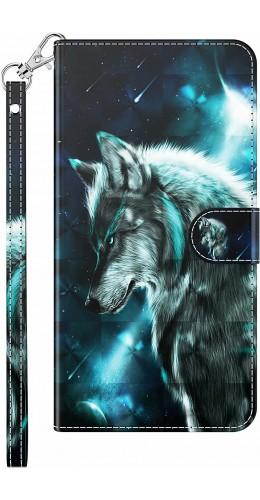 Fourre iPhone 7 / 8 / SE (2020) - 3D Flip Wolf Universe
