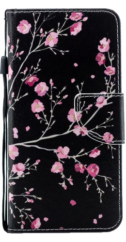 Fourre iPhone 7 / 8 / SE (2020) - Flip fleurs cerisier